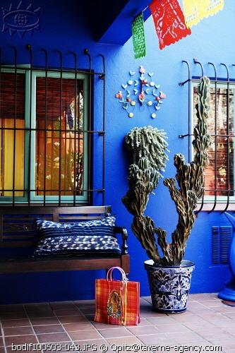 la arquitectura y los colores