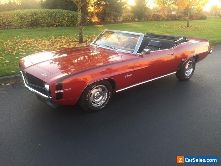1969 Chevrolet Camaro deluxe #chevrolet #camaro #forsale #unitedstates