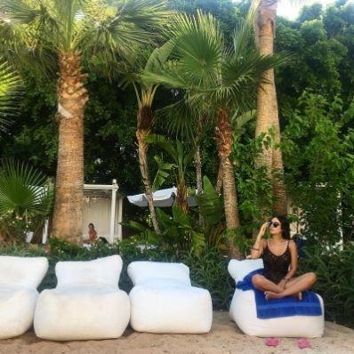 🌴Under the palm trees is where you'll find me this summer! 🌴 📷: @stavkx_ #hotel #beachlife #beach #greciansands #visitcyprus #greciansandshotel #mediterranean #ayianapa #cyprus #island