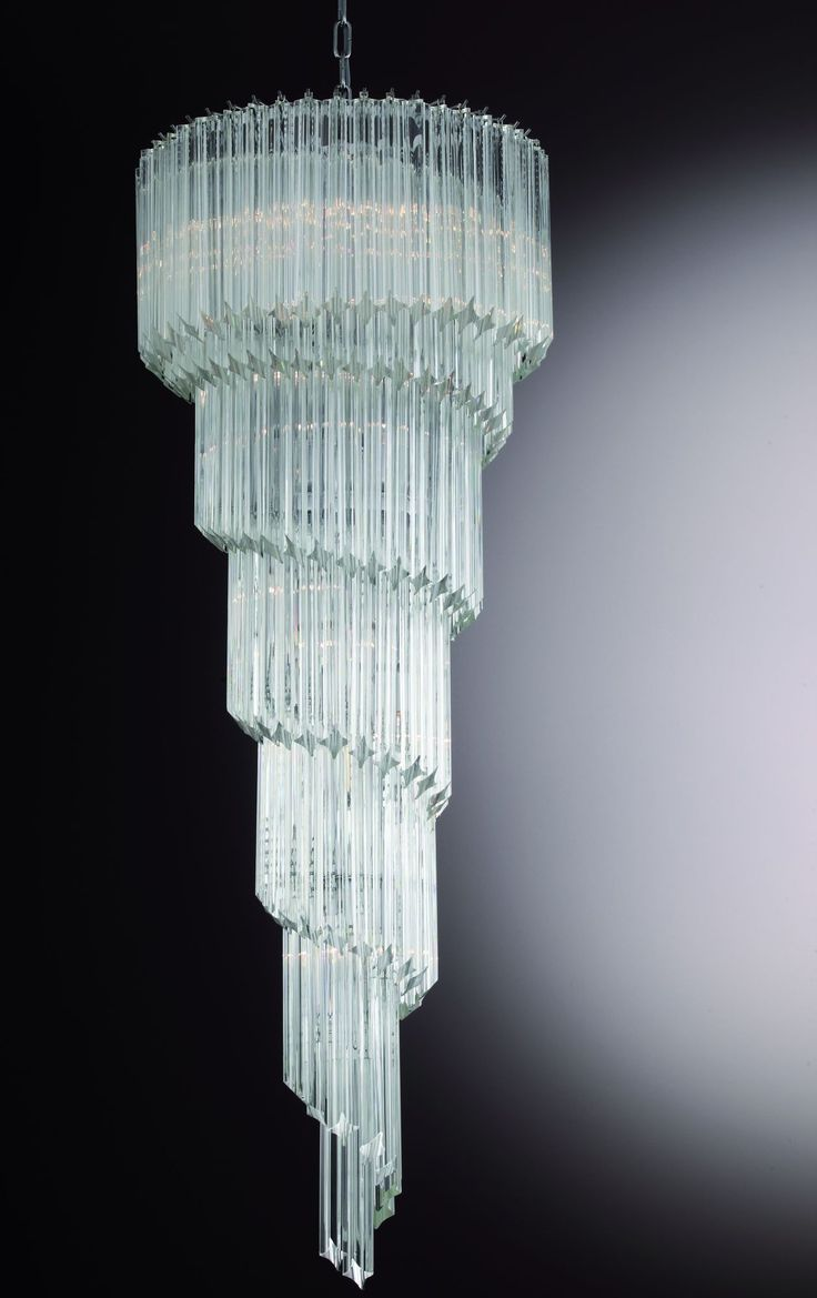 66 best beautiful bespoke mid century murano glass lighting images a bespoke prism chandelier is one of the most impressive choices for your stairwell with arubaitofo Images