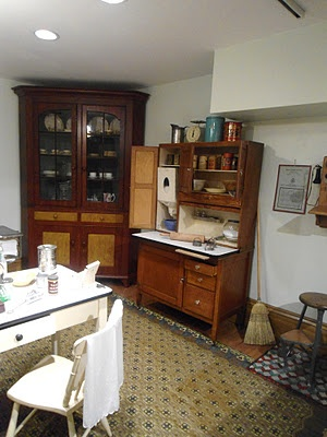 An Old Fashioned Kitchen