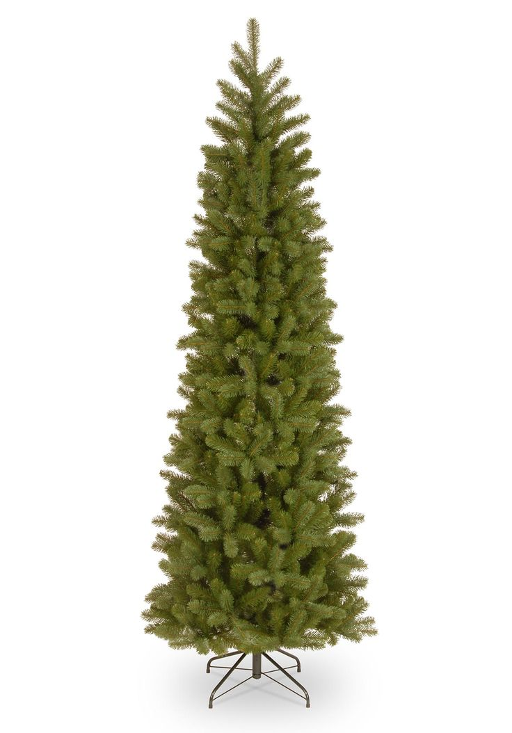 5.5ft Bayberry Spruce Pencil Feel-Real Artificial Christmas Tree