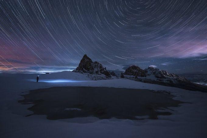 Dolomites stargazing by jamesrushforth