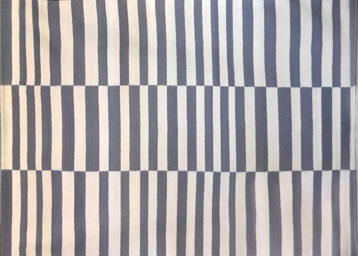 KELIM GALLE OP ART GREY/WHITE