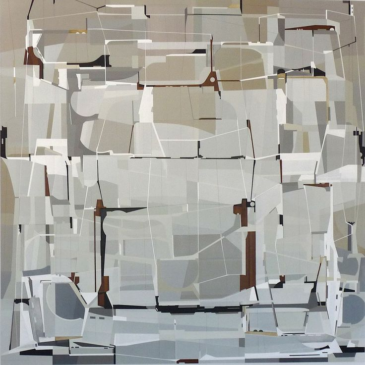 James Kennedy - Incremental Inversion | From a unique collection of abstract paintings at http://www.1stdibs.com/art/paintings/abstract-paintings/