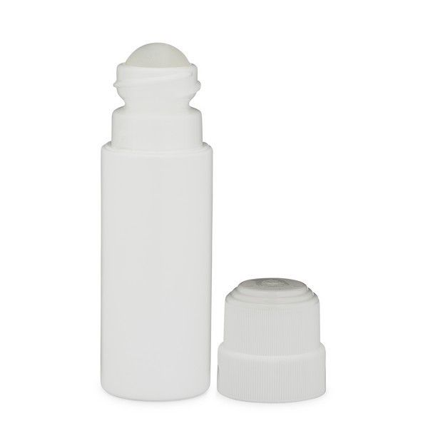 3 Oz White Hdpe Plastic Child Resistant Capable Roll On Bottle With Cap 1123b03 Bottle Hdpe Plastic Roll On Bottles