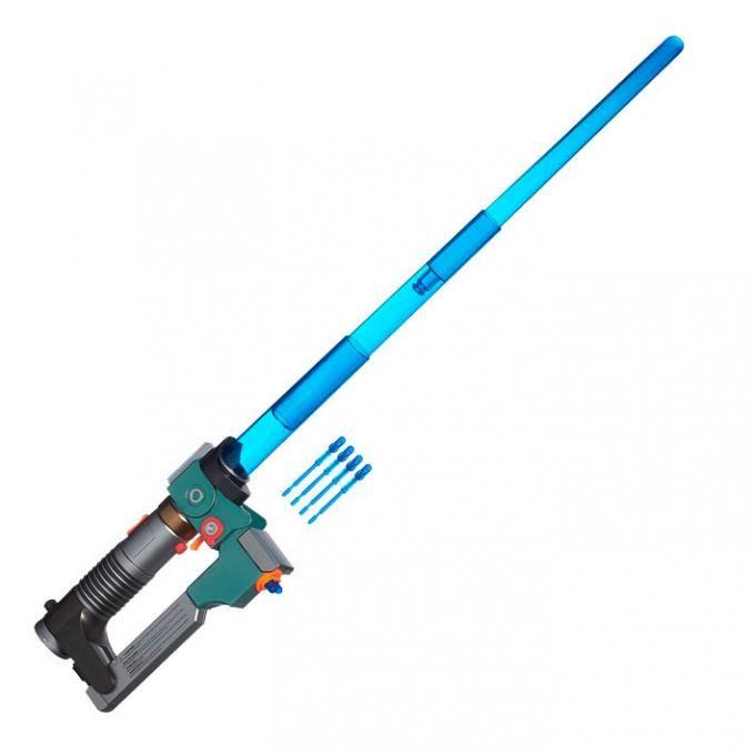 Sable de luz Ezra Bridger, Star Wars Rebels. Extensible, Hasbro Sable extensible del personaje de Ezra Bridger con luz y sonido, perteneciente al universo Star Wars Rebels.