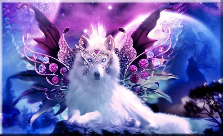 Alien 3d Wallpaper A Beautiful Wolf Angelall Jewels And Wolf From Google
