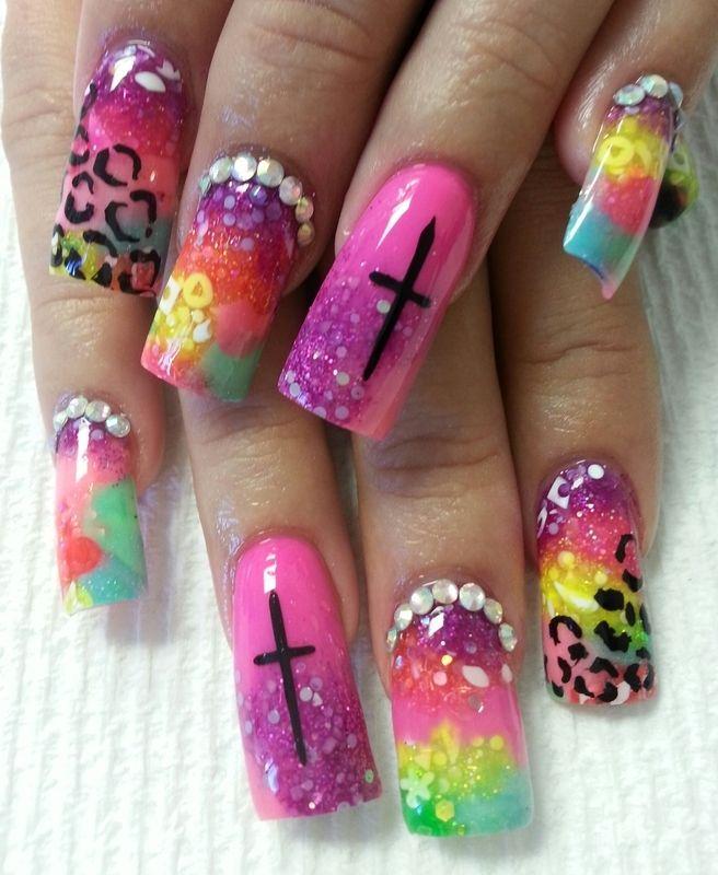 Mejores 1197 imágenes de nails en Pinterest | Clavos de ataúd ...