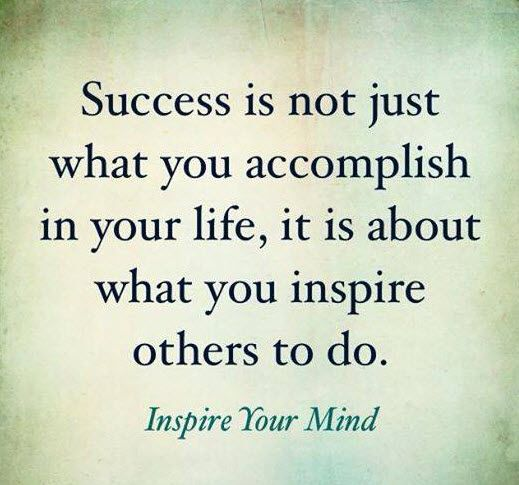 Motivational Quotes: Success Means Inspiring Others | The Sykes ...