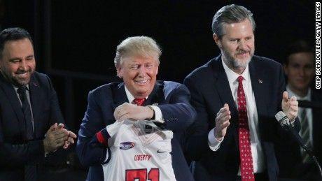 Jerry Falwell backs Donald Trump: Satire is dead (Opinion) - CNN.com