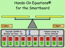 Cool Algebra games/templates for the SMARTboard