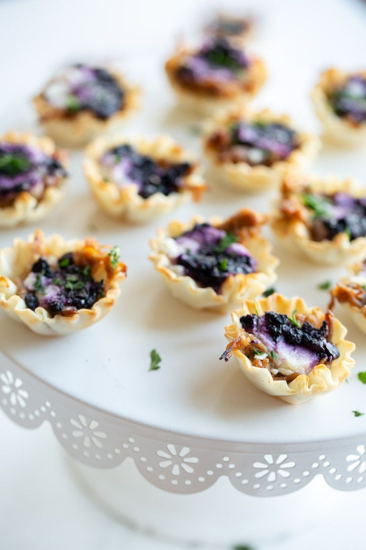 Easy Blueberry Goat Cheese Appetizer Recipe Appetizers, Snacks