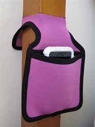 Bunk Pocket - Dorm Room Bedding Accessory for keeping your cell phone bedside. Bunk Bed Style Pocket for holding accessories and important dorm items bedside. Safer than a shelf as items are safe and secure.