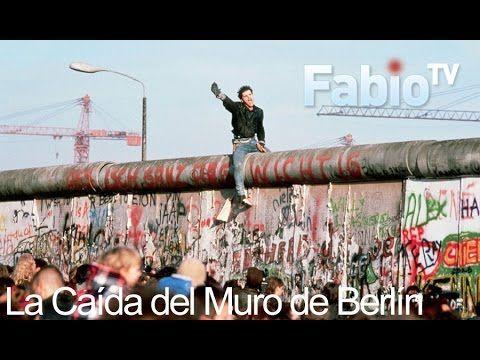 La caída del Muro de Berlín/ El Muro de Berlín cayó en la noche del jueves 9 al viernes 10 de noviembre de 1989, 28 años después de su construcción.