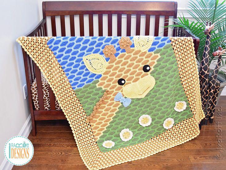 Ravelry: Rusty the Giraffe Blanket by Ira Rott