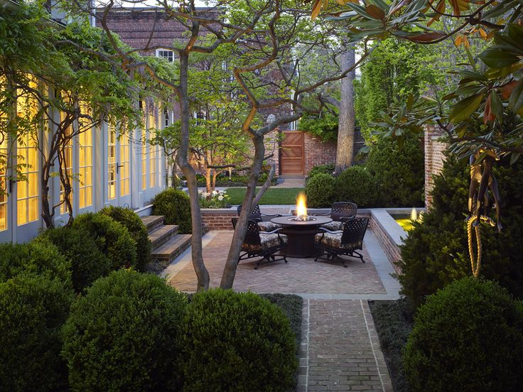 Graham Landscape Architecture › Projects › Residential » Georgetown Residence
