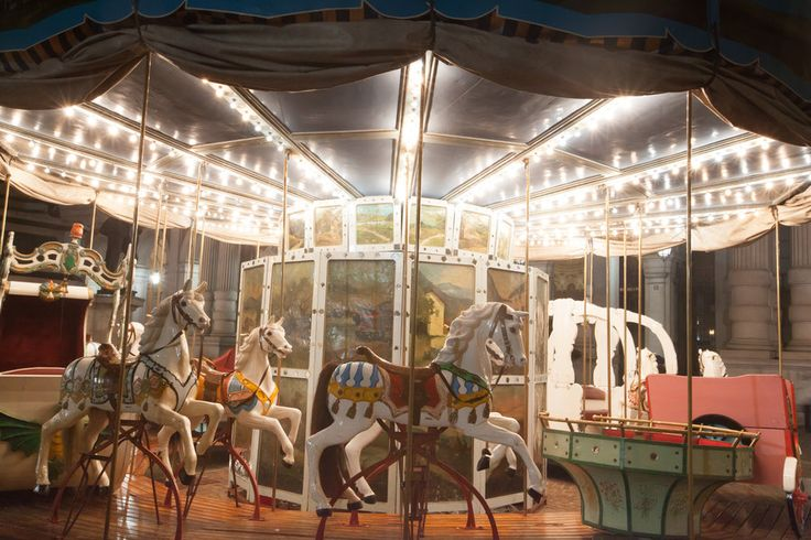 Antique carousel II by vlad-m.deviantart.com on @deviantART