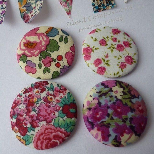 Magnets, Liberty fabric £4.50