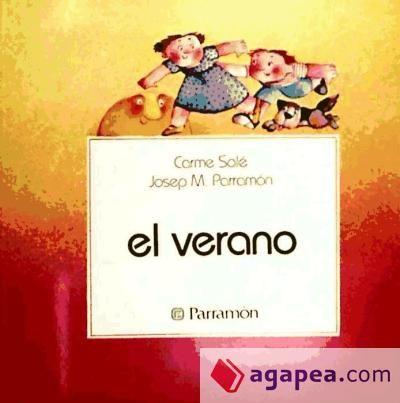 El verano de Carme Solé Vendrell, Josep Ma. Parramón.   L/Bc PAR cua .     Este libro trata de actividades que los niños pueden realizar en verano (montar en bicicleta...)  http://almena.uva.es/search~S1*spi?/tel+verano/tverano/1%2C23%2C24%2CB/frameset&FF=tverano&1%2C1%2C