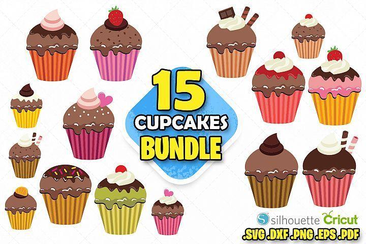 Cupcake Clipart Svg Geburtstag Kuchen Kuchen Clipart Scrapbooking