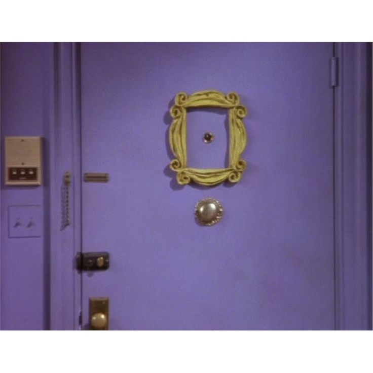 Show Off Your Love For The Best Comedy Show In TV History With This Friends  Peephole Frame Replica! It Will Look Awesome On The Back Of Your Apartment  Door ...