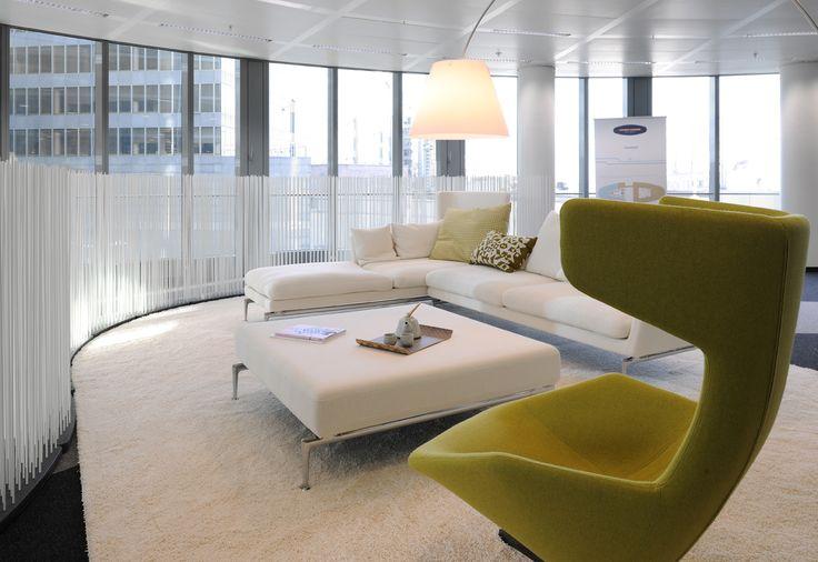 13 best images about eigentijdse kantoorinrichting on pinterest bureaus met and projects - Eigentijdse design lounge ...