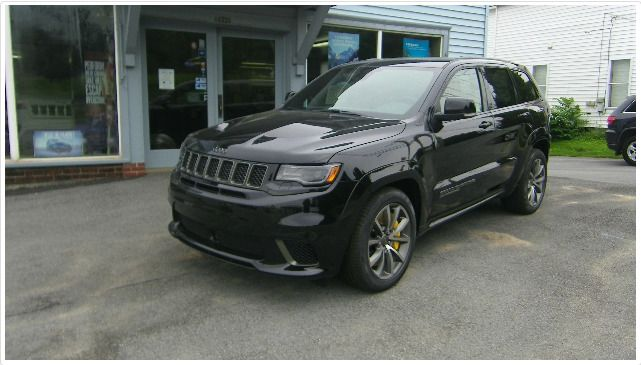 2018 Jeep Grand Cherokee Trackhawk 4x4 New 4 Door Sport Utility 6 2l 6 2l V8 Supercharged Engine 8 Speed In 2020 Jeep Grand Cherokee Jeep Grand New Jeep Grand Cherokee