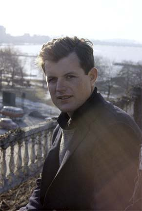 Ted Kennedy Looking So Handsome