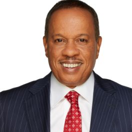 """Juan Williams -   Juan Williams joined Fox News Channel (FNC) in 1997 as a contributor and is also a co-host of FNC's """"The Five,"""" where he is one of seven rotating Fox personalities."""