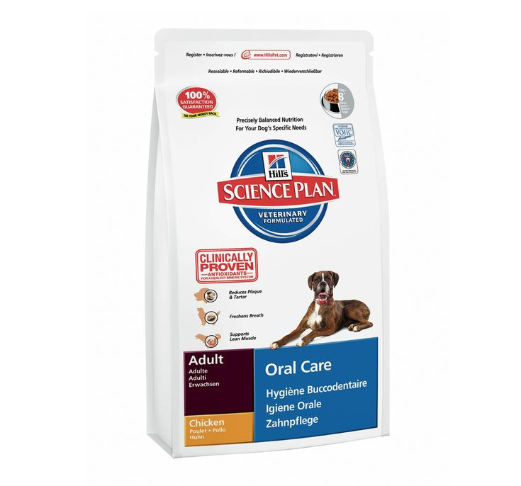 Hills Science Plan Adult Oral Care Chicken - 2 KG Buy Online Dog Food http://www.dogspot.in/treats-food/