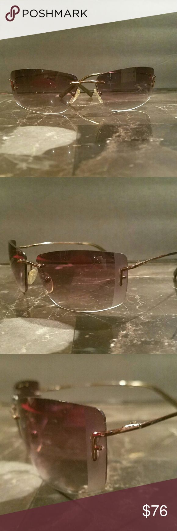Gorgeous FENDI Bronze Eyeglasses Lightweight Beautiful pair of Fendi glasses! Super lightweight so they are very comfy to wear. Great Condition. Authentic Fendi Accessories Glasses