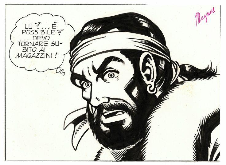 """Magnus _ I BRIGANTI"""", vol. I°, cap. VII°, """"LIBERO"""" _ 1979"""