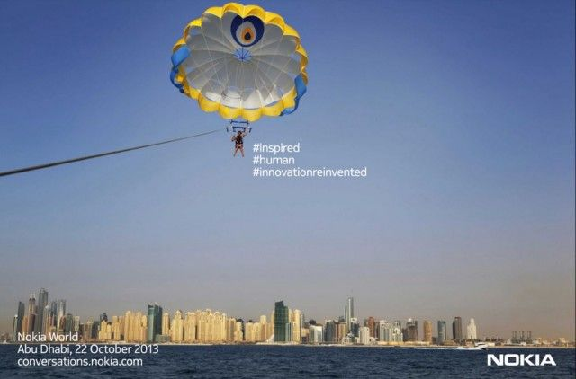 Nokia World на 22 Октомври в Абу Даби #inspired #human #innovationreinvented