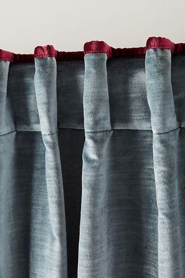 Velvet Curtains Ds, How To Clean Cotton Velvet Curtains