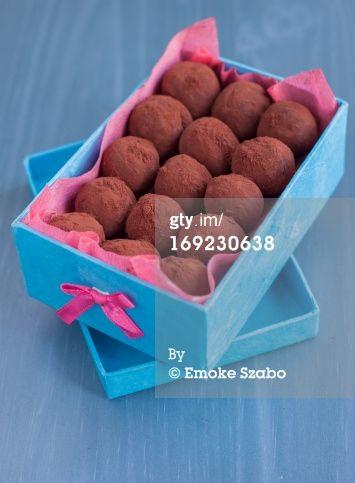 salted caramel truffle by Emoke Szabo
