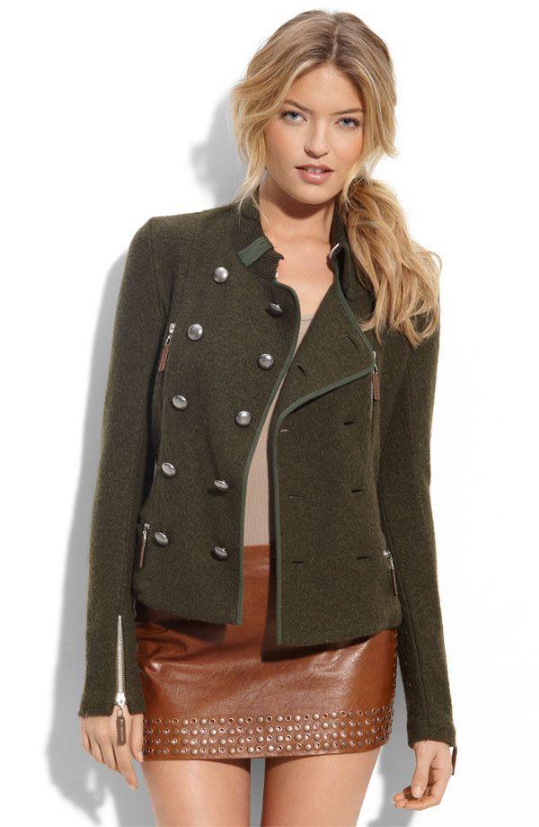 Leather Skirt Jacket 111