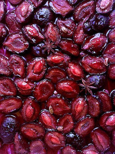Fűszeres sült szilva   Chili és Vanília