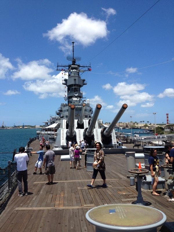 USS Missouri Battleship, Pearl Harbor