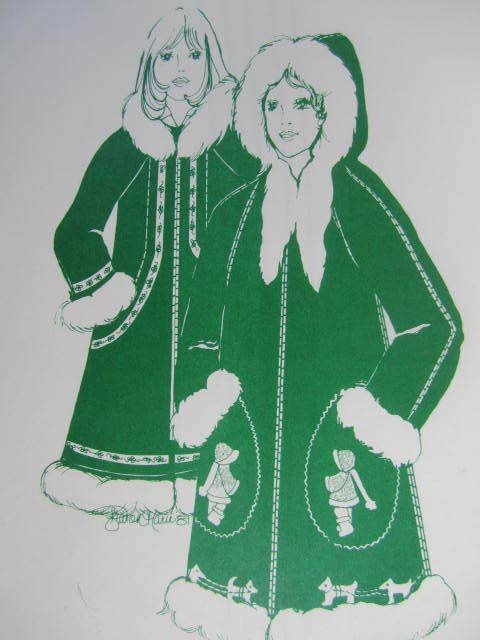 "See Sally Sew-Patterns For Less - Adult Eskimo Parka Ladies Jacket Northland Parka Vintage Pattern Sz. 32"" - 40"" , $15.99 (http://stores.seesallysew.com/adult-eskimo-parka-ladies-jacket-northland-parka-vintage-pattern-sz-32-40/)"