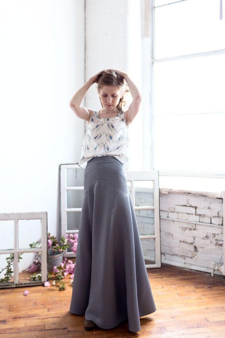 the gabriola skirt