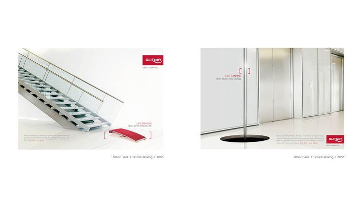 Glitnir banking ads