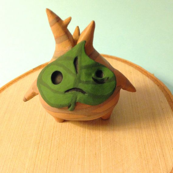 Mini Makar FIGURE or Necklace // The Legend of Zelda : Wind Waker MADE to ORDER