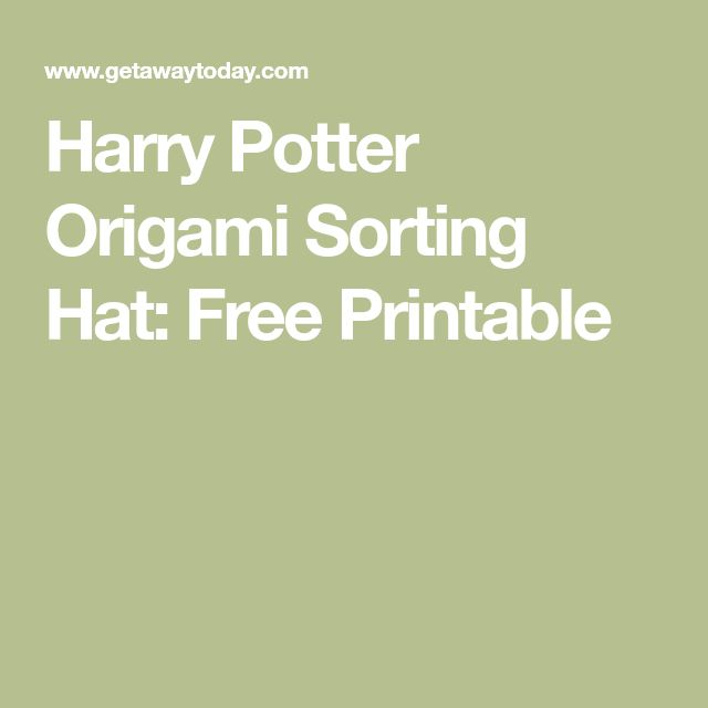 best 25 sorting hat ideas on pinterest harry potter