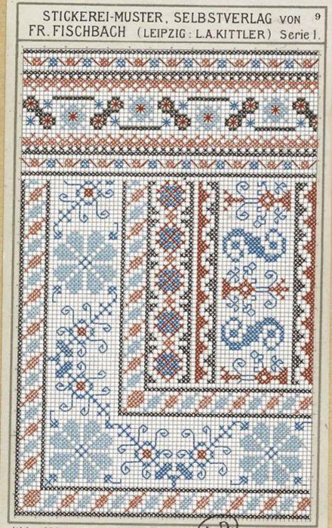 Gallery.ru / Фото #104 - старинные ковры и схемы для вышивки - SvetlanN