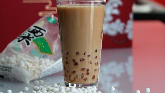 Boba Coconut Milk Black Tea With Tapioca Pearls  Recipe