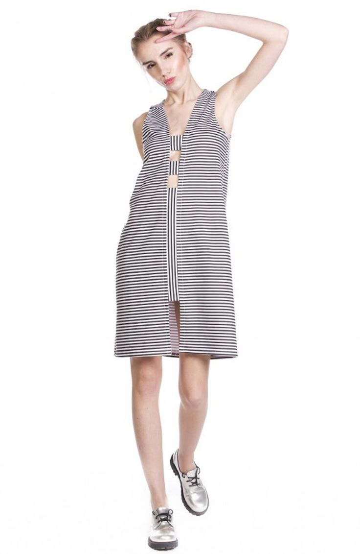 AS X2 ACURRATOR The Strip Cut Out Dress