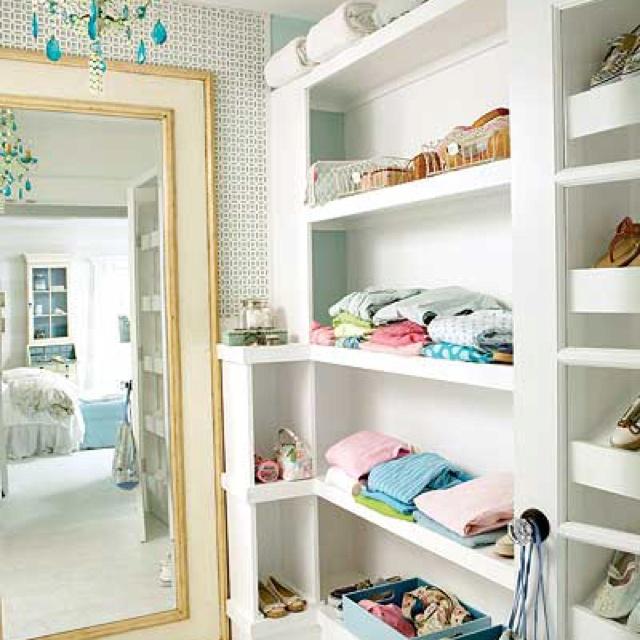 Open Closet Ideas : Open Closet  Ideas for the girls room  Pinterest