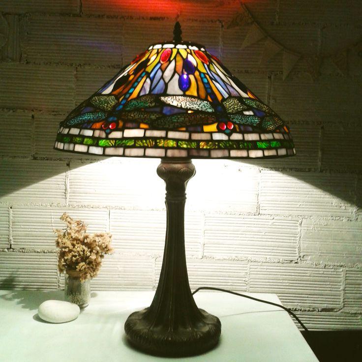 Restauración de una lámpara de tiffany