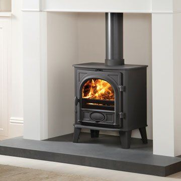 Stovax Stockton 5 Multi-Fuel Stove with Low Canopy